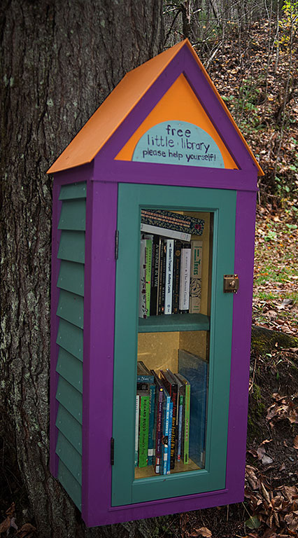 Little Free Library on the Poetry Loop