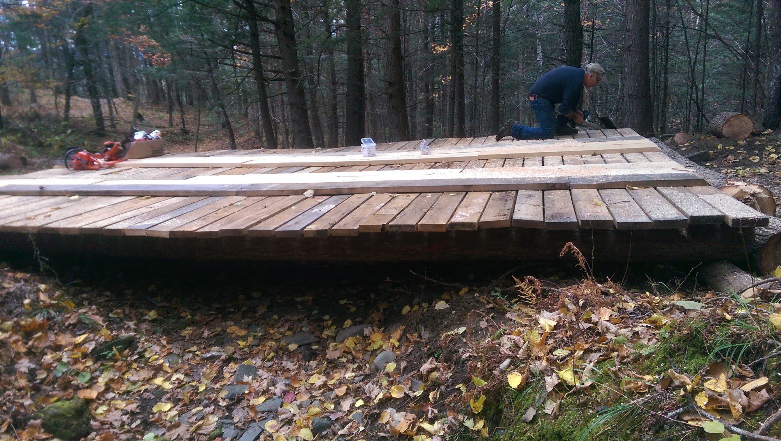 New Bridge on the Blue Trail