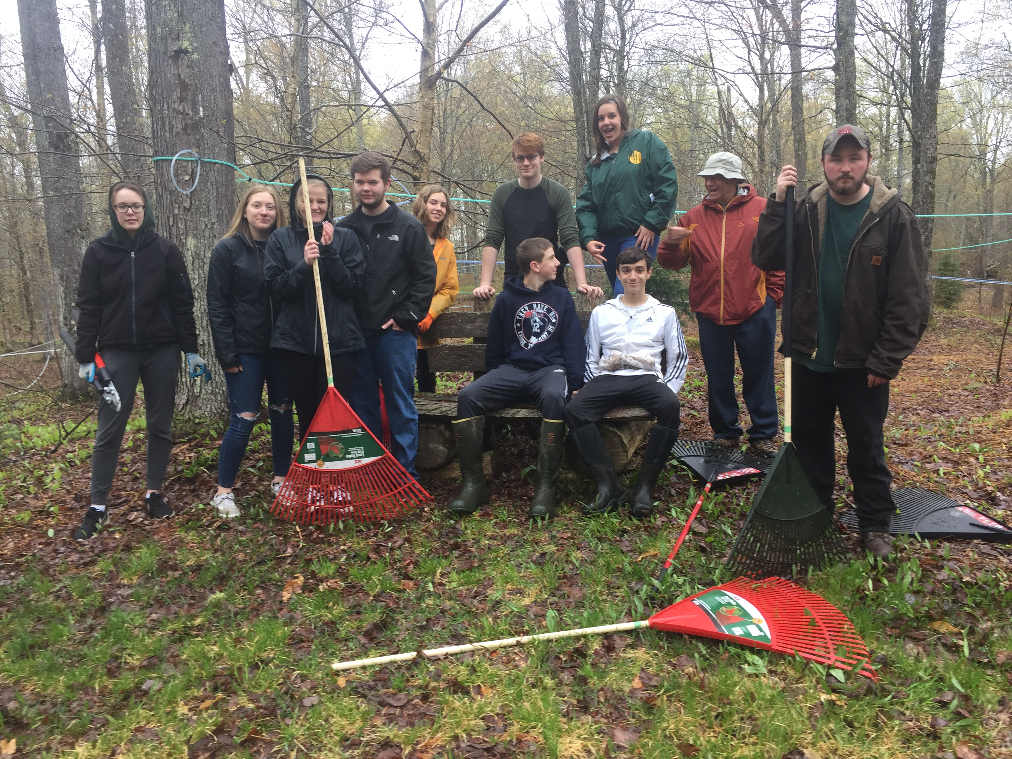 Trail Cleanup During Service Week